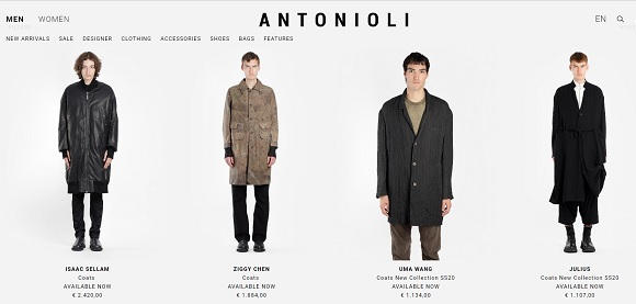ANTONIOLI Discount Coupon