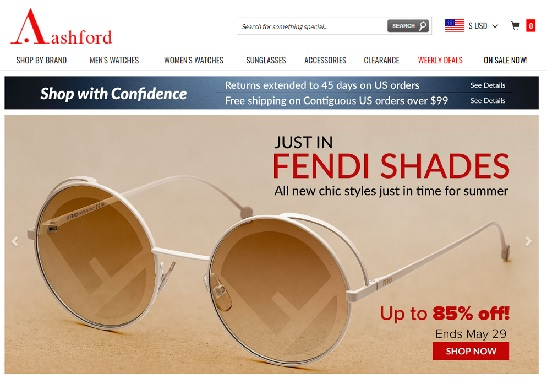 ASHFORD Coupon promozionale