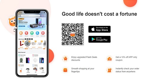 BANGGOOD 10% APP Coupon Code
