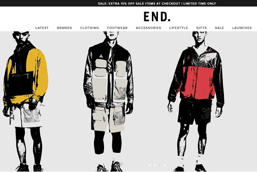 ENDCLOTHING Promotional Code