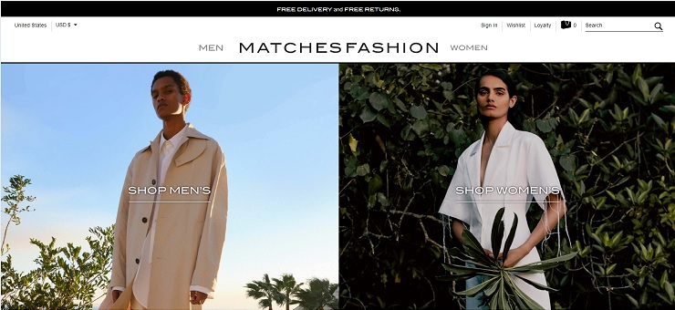 MATCHESFASHION promocijska koda