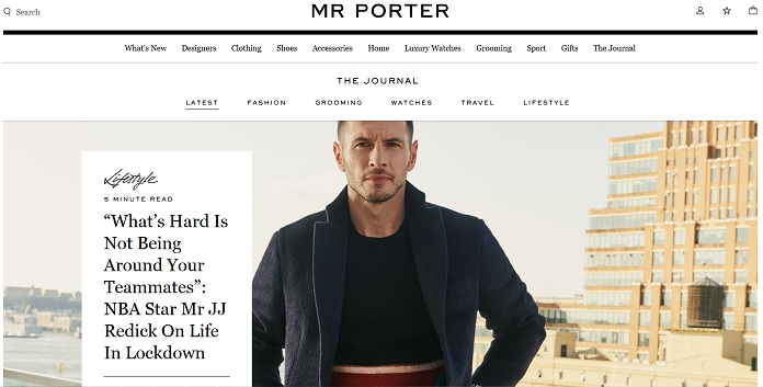 MRPORTER Discount Coupon