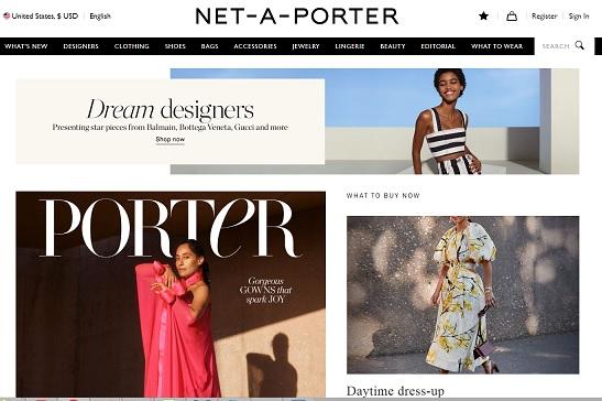 NET A PORTER Código de promoción