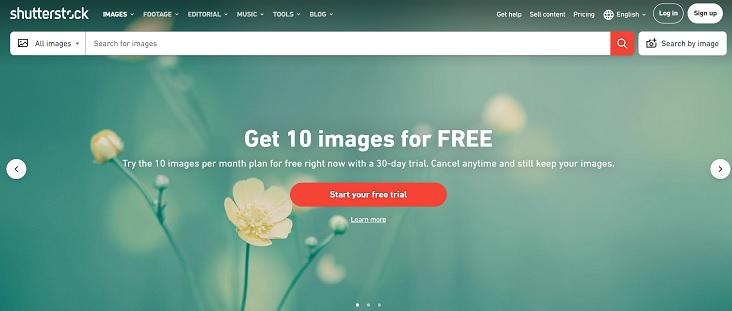 Shutterstock Propagačný kód dnes