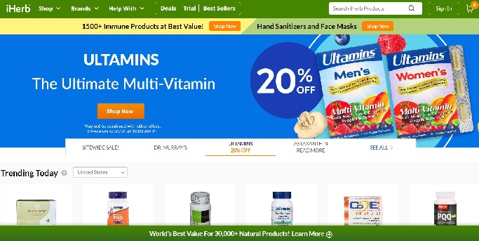 iHERB Promotional Code